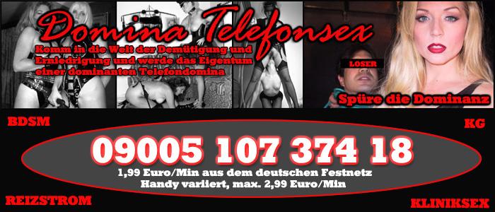 138 Die besten Telefonsex Femdoms
